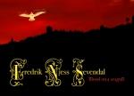 Fredrik Ness Sevendal – Blood On A Seagull (CD-R card, 2008). Cover design by Bjørn Kjetil Johansen.